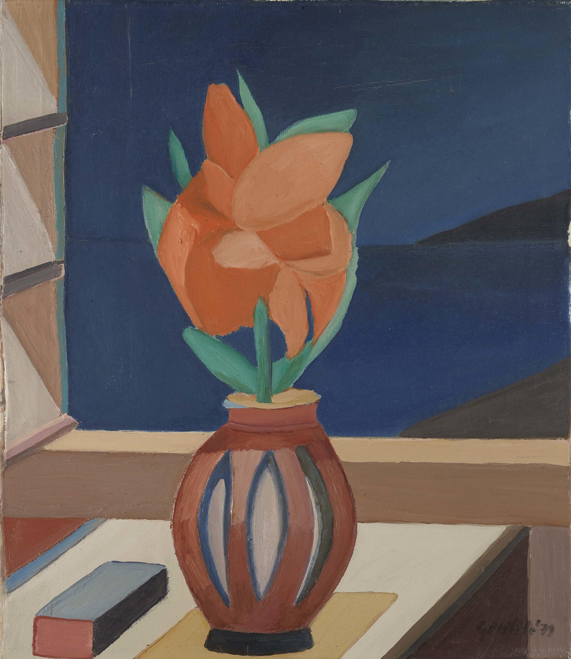 Il fiore alla finestra