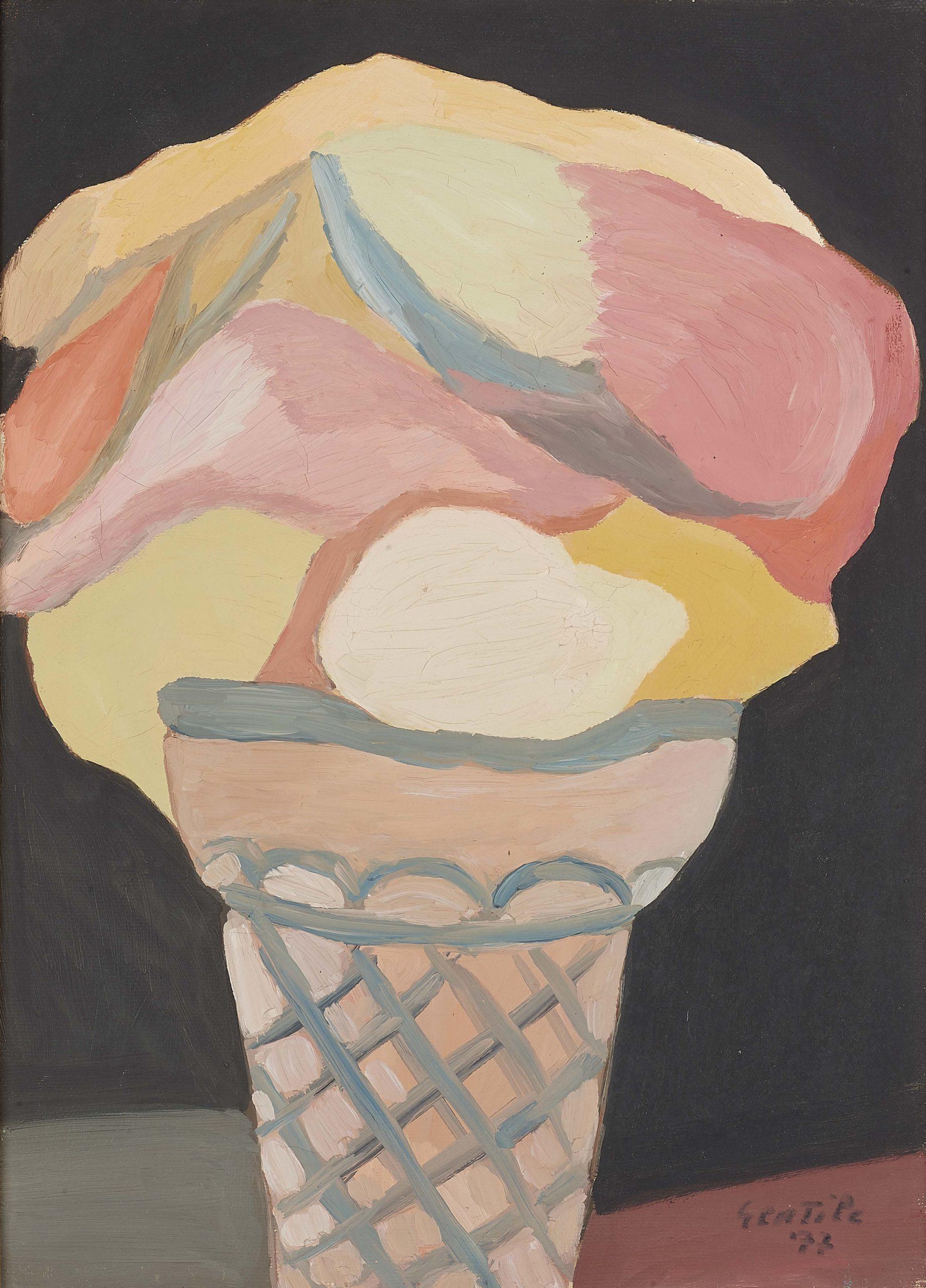 Architettura di un gelato